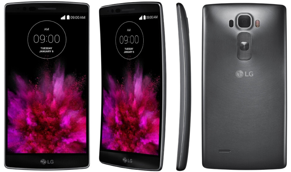 """The LG G Flex 2 has a flexible OLED screen made by LG Display - LG to pour $1.75 billion in """"paradigm shifting"""" OLED displays production"""