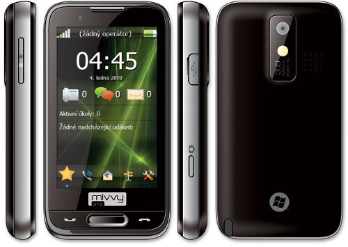 Mivvy one to feature a personalized interface called Yrgo - The Mivvy One – another Windows Mobile smartphone