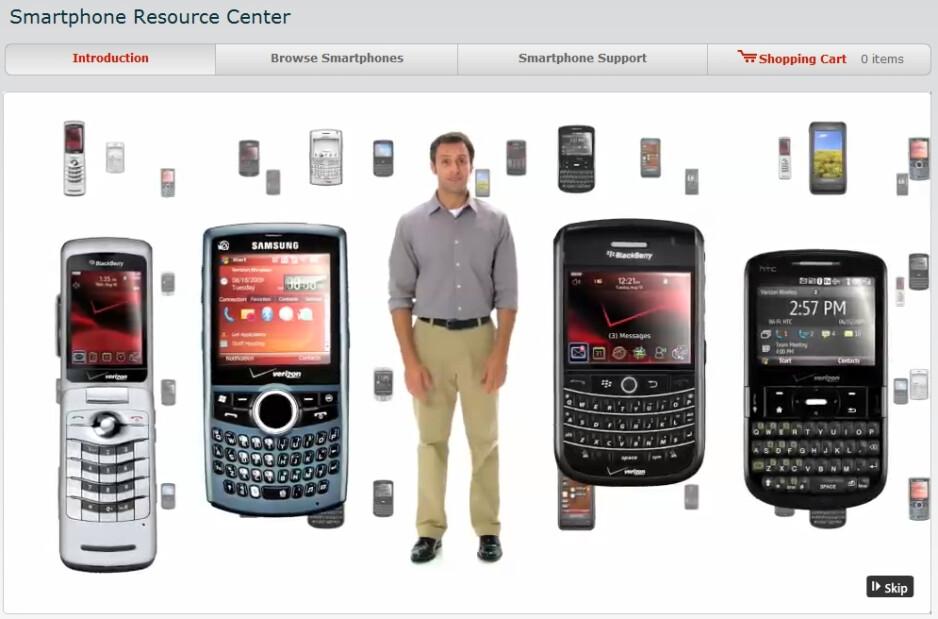 Verizon launches Smartphone Resource Center