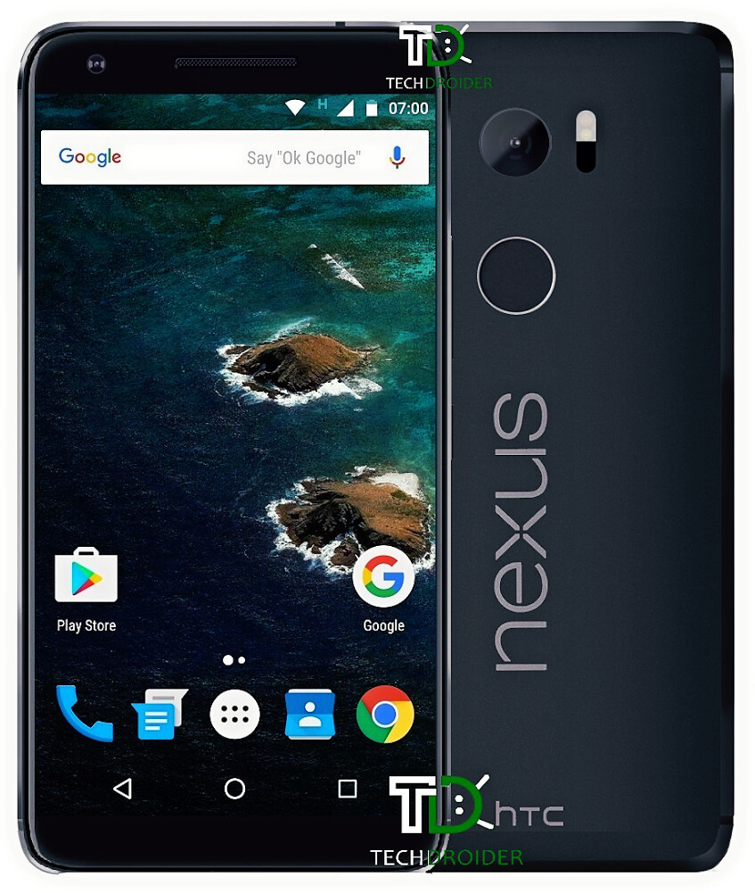 HTC Nexus Marlin render: this is what the phone will allegedly look like