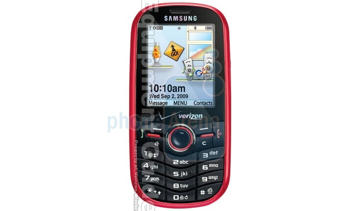 UPDATED: Images, specs and pricing of the Samsung Intensity U450 for Verizon