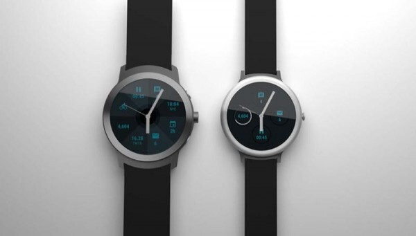 Upcoming Google Nexus smartwatches Angelfish and Swordfish shown in alleged render