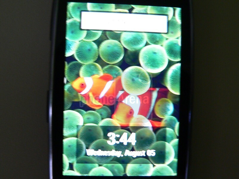 The Samsung Instinct HD's design and interface - Exclusive images of the Samsung Instinct HD