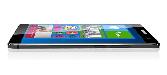 The Akyumen Holophone Phablet integrates a projector and dual boots Android and Windows 10 PC