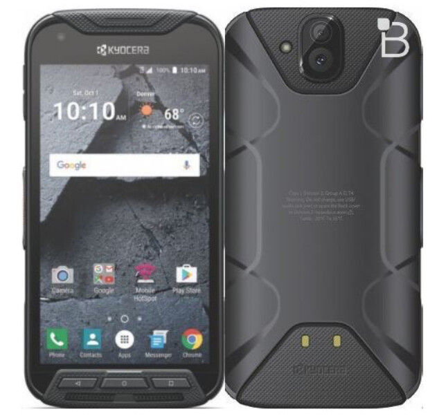 The rugged Kyocera DuraFore Pro is expected to hit T-Mobile before the end of the year - T-Mobile to sell the rugged Kyocera DuraForce Pro before 2016 ends?