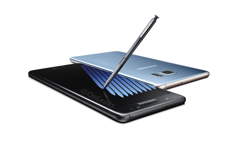 The Galaxy Note 7 could be the first phone to feature Gorilla Glass 5. (Image by OnLeaks) - Samsung Galaxy Note 7 and iPhone 7 may feature Gorilla Glass 5, here's what that means