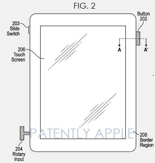 Patent application shows the use of a Digital Crown on an iPad