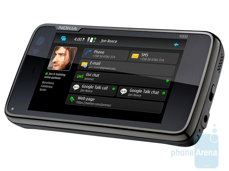 The Nokia N900 is powered by the Maemo 5 platform - Nokia N900 official, takes multitasking to the next level