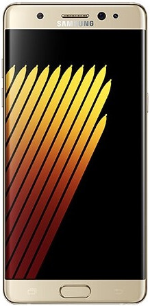 The Gold Platinum variant won't be available in the States. - The Galaxy Note 7 is ready for the titanic clash: arrives on the scene with iris scanning, water resistance, and 64GB base storage