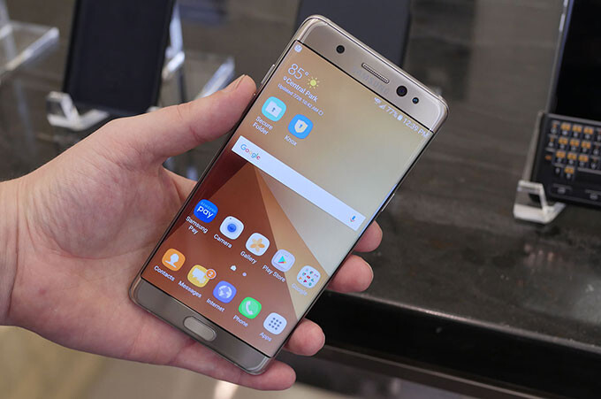 Samsung Galaxy Note 7 hands-on: meet the curved-screen, waterproof new phablet