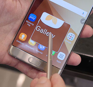 Getting a closer look with Air Command's Magnify feature - Samsung Galaxy Note 7 hands-on: meet the curved-screen, waterproof new phablet