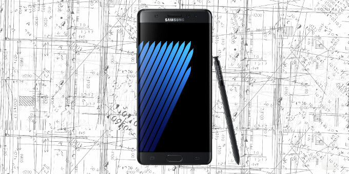 Samsung Galaxy Note 7 size comparison vs Galaxy S7 edge, iPhone 6s Plus, HTC 10, LG G5, others