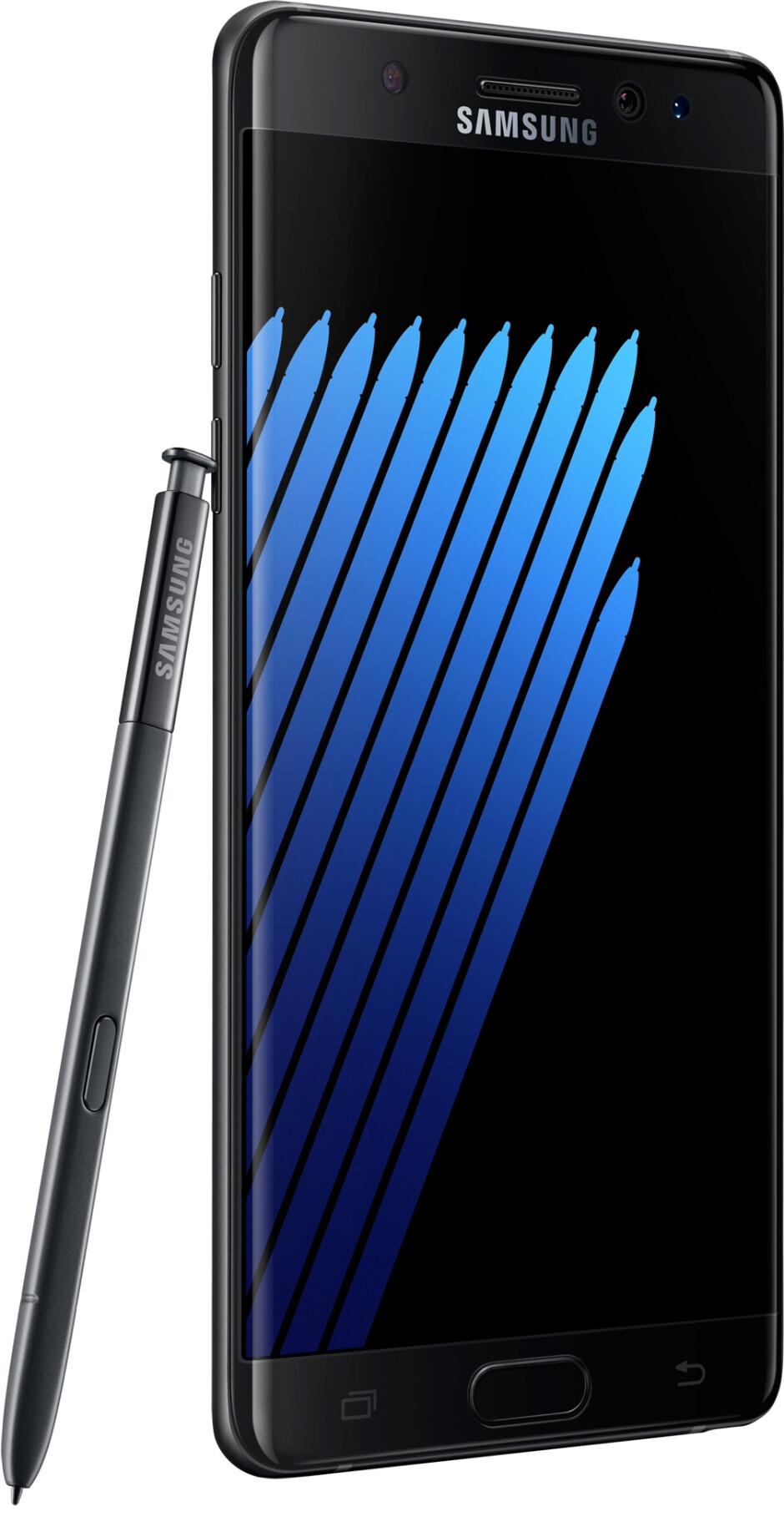 The Galaxy Note 7 is narrower and more symmetrical - Samsung Galaxy Note 7 - specs review