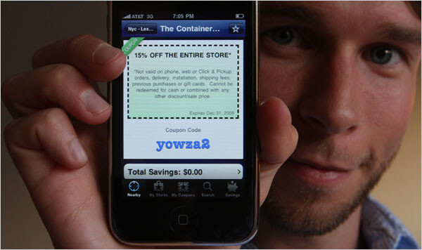 Cellphone coupons result in win-win to consumer and retailer