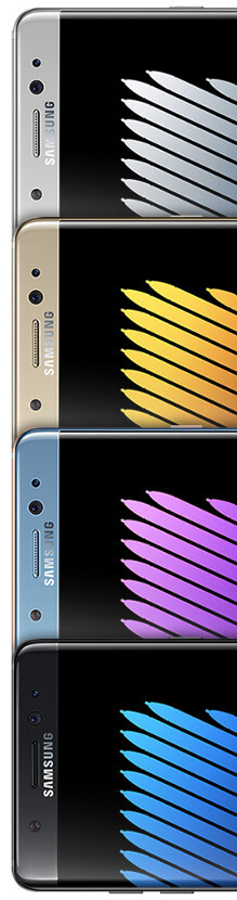 The Galaxy Note 7 is ready for the titanic clash: arrives on the scene with iris scanning, water resistance, and 64GB base storage