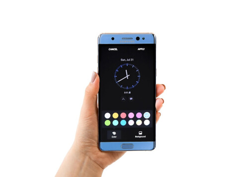 The Samsung Galaxy Note 7 Power Saving mode can quickly lower the display resolution to FHD or HD