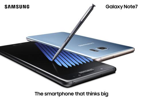 Samsung exec sagt der Galaxy Note 7 besser verkaufen als die Note 5 (und ältere Hinweise)