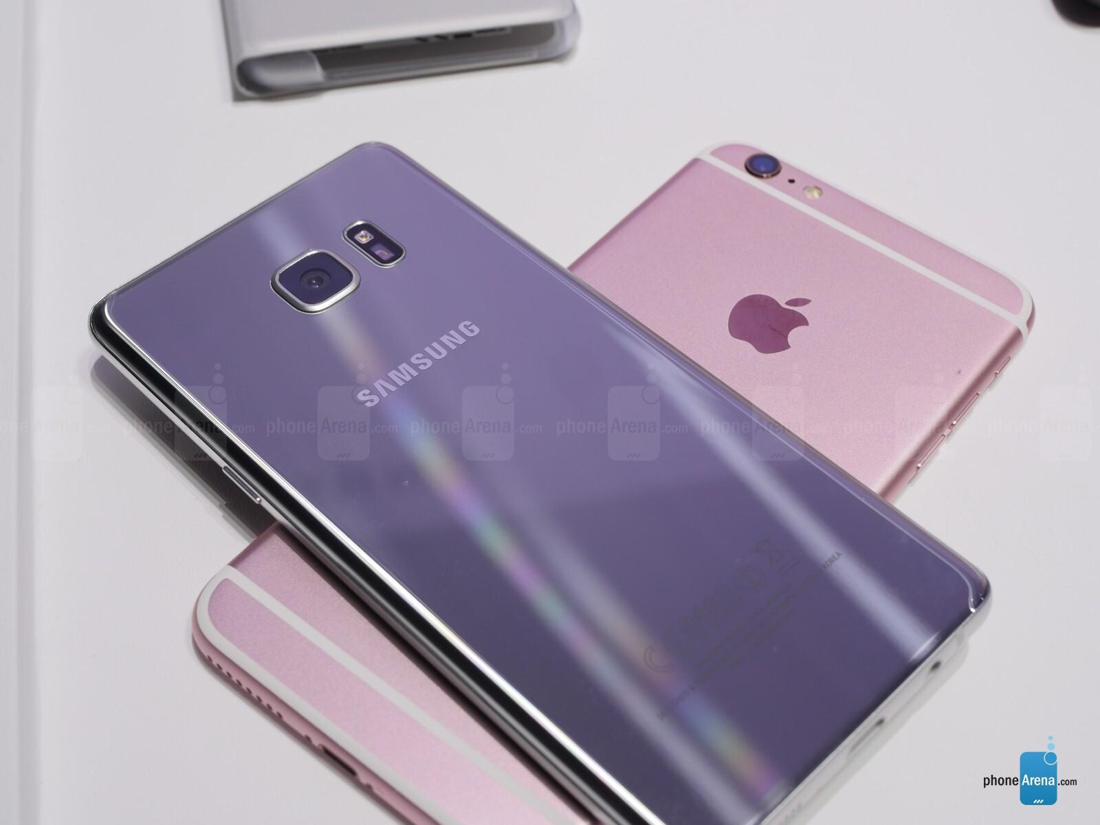Galaxy Note 7 vs iPhone 6s Plus: big-screen flagship ...