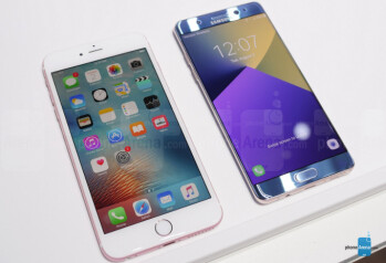 Galaxy Note 7 Vs IPhone 6s Plus: Big-screen Flagship
