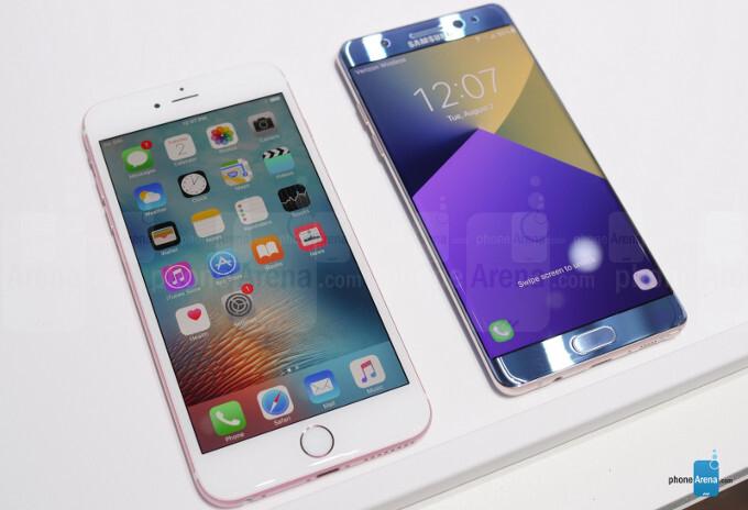 Galaxy Note 7 vs iPhone 6s Plus: big-screen flagship comparison