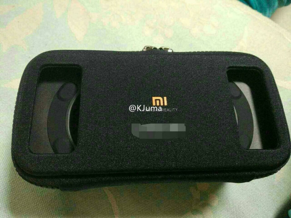 Photo of what is alleged to be Xiaomi's soon to be announced VR headset - Leaked photograph allegedly showing Xiaomi's VR headset surfaces; device to launch tomorrow?