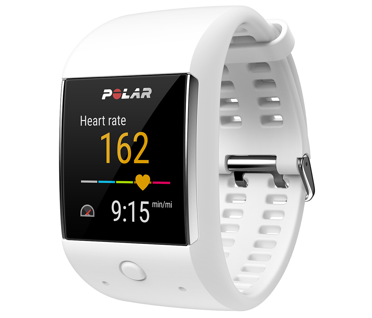 The Polar M600 is an Android Wear smartwatch with fitness ...