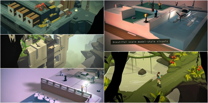 Pssst, Lara Croft GO and Hitman Go are both discounted to $0.99, down from $4.99