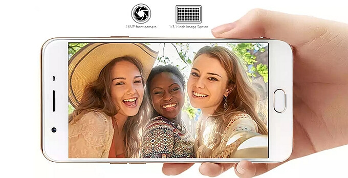 Oppo F1s lands in India with insane 16MP selfie camera and