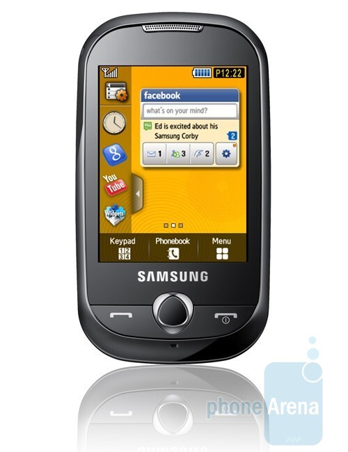 Samsung Corby S3650 – affordable and youthful