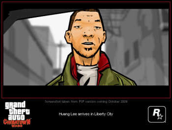 Pictures of GTA Chinatown Wars for PSP