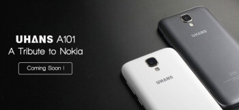 The Uhans A101 is an Android tribute to the best-selling Nokia 1100