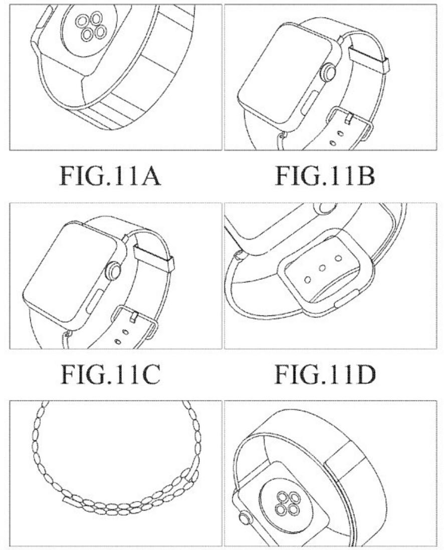 Самсунг попробовала запатентовать Apple Watch