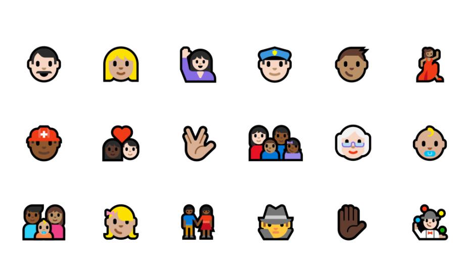The many new Microsoft emoji - Emoji crossfire: Microsoft is also changing its gun emoji, but in a different way
