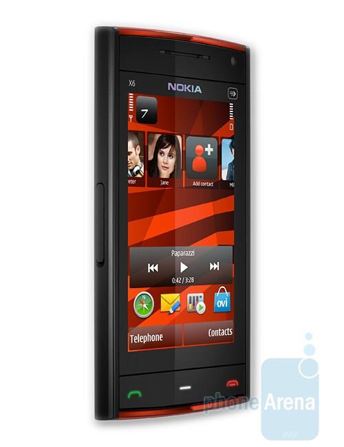 The Nokia X6 to be the most technologically advanced music-oriented handset of the manufacturer - Nokia X6 and X3 – the first X Series handsets