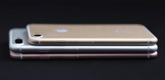 iPhone 7, iPhone 7 Plus, and iPhone 7 Pro dummy units revealed in new video