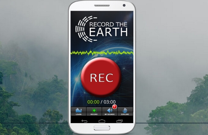 Record the Earth is an app for contributing to ecological research by hunting soundscapes