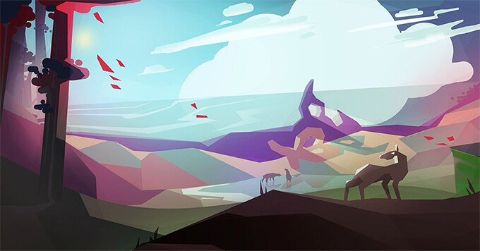 Concept art for Morphite - A game like No Man's Sky for mobile? This could be it