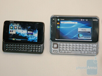N900 left, N810 right - N900 next to E75