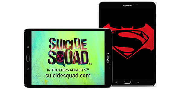 Buy a Samsung Galaxy Tab, get free tickets to see Suicide Squad (US only)