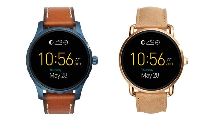 Fossil Q Marshal and Wander (from left to right) - New Fossil smartwatches available for pre-order this week