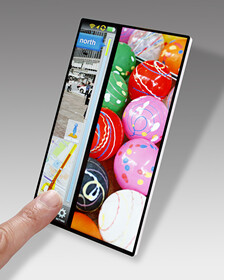 Check out this nearly bezel-free concept device from Japan Display!