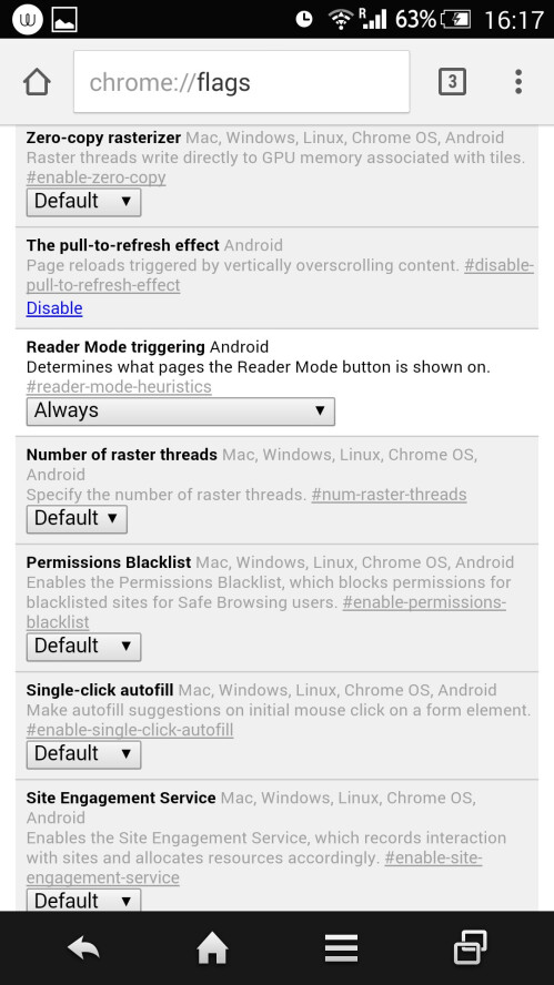 Chrome Reader mode