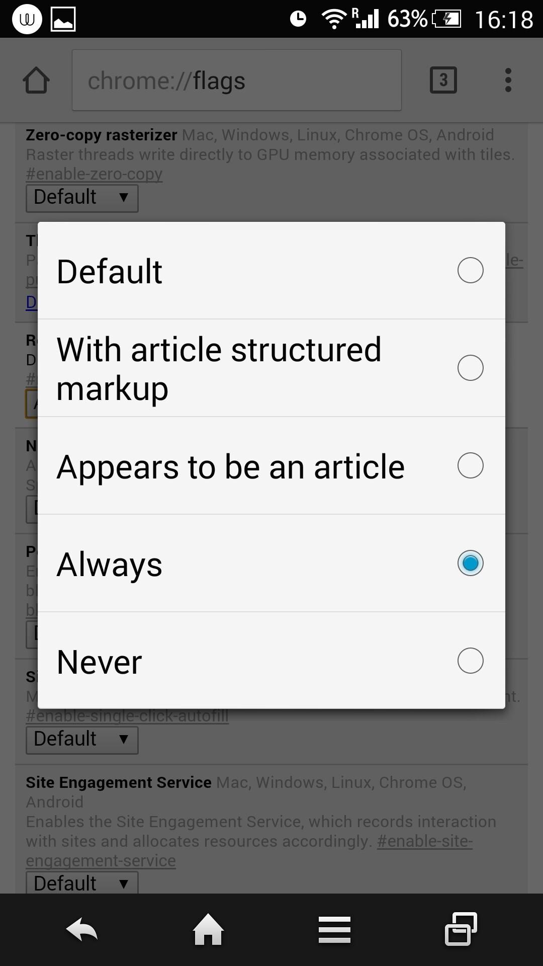 Safari reader mode disabled dating