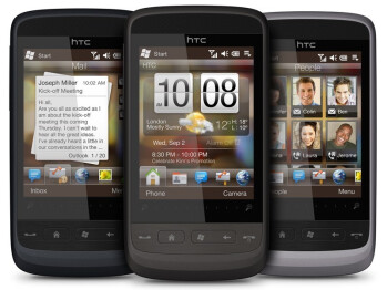 The HTC Touch2 coming in three colors