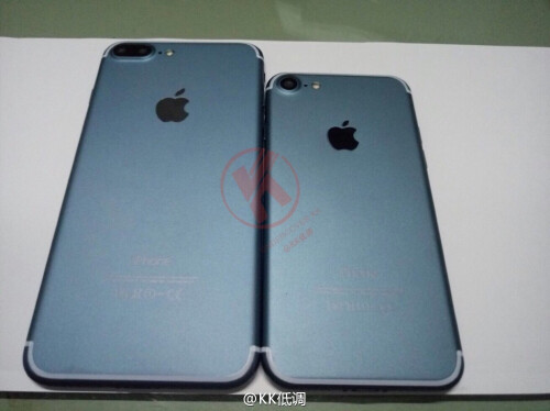 Leaked images of the iPhone 7 and iPhone 7 Plus in Gold and Space Black