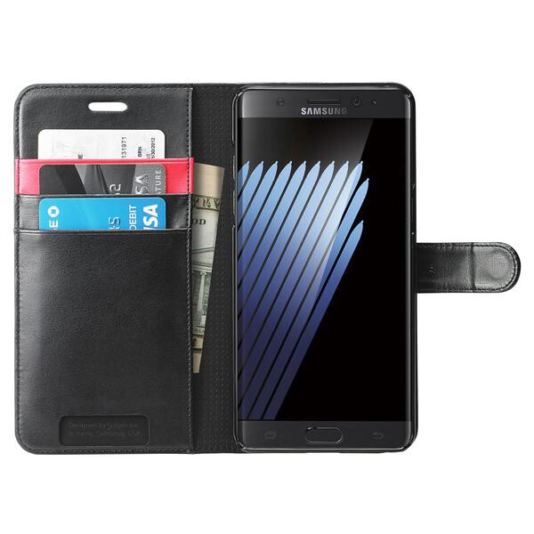 Spigen Case Wallet S - 7 magnificent leather cases for the Samsung Galaxy Note 7