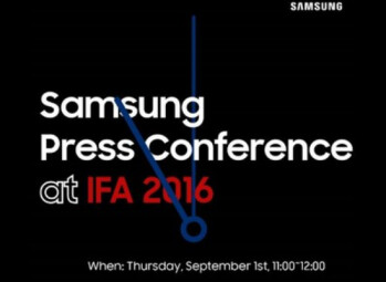 Invitation for Samsung event at IFA hints at Gear S3 unveiling