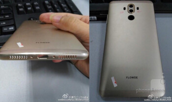 Alleged Huawei Mate 9 rear casing shows two cameras, purported specs leaks