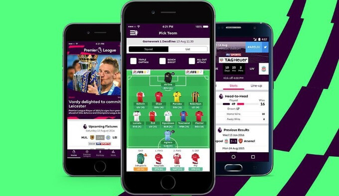 The official Premier League app for Android and iOS went live, and it has it all