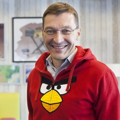 Pekka Rantala during his tenure in Rovio - Ex-Rovio CEO and Nokia veteran Pekka Rantala to bring Nokia Android phones to the market